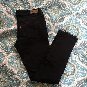 Levi's Black Skinny Leg Jeans